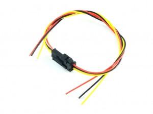 Разъем JST-SM с проводами, 3 контакта