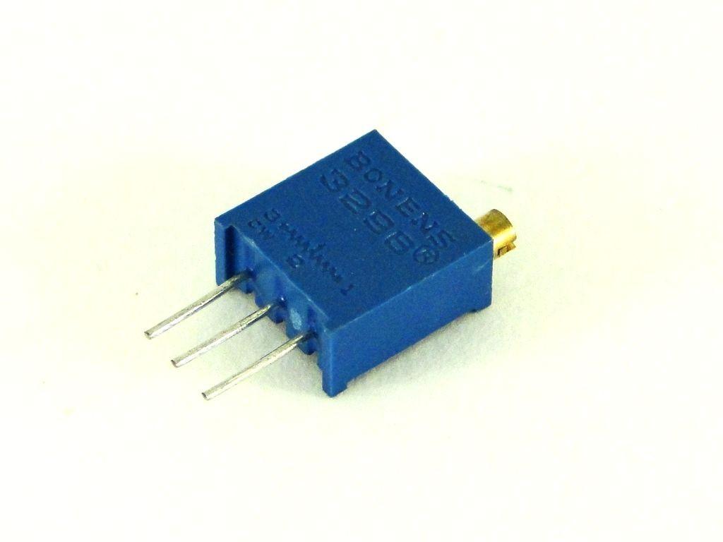 Резистор переменный 3296W-503, 500КОм