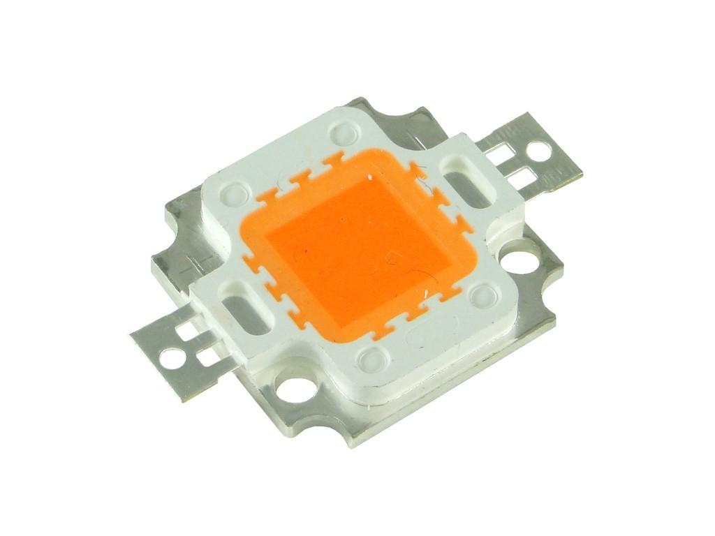 Мощный SMD светодиод розового цвета, 10 Вт