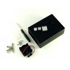 Корпус с вентилятором для Raspberry Pi 2-3, черный