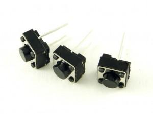 Кнопка тактовая 6x6 с прямыми выводами