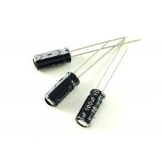 Конденсатор электролитический, 100мкФ, 16В