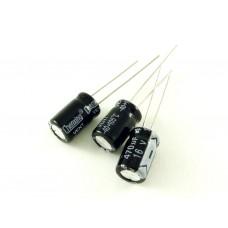 Конденсатор электролитический, 470мкФ, 16В