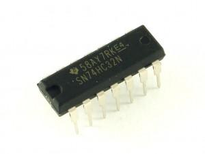Микросхема. 4 И-НЕ с триггером Шмитта, 74HC132