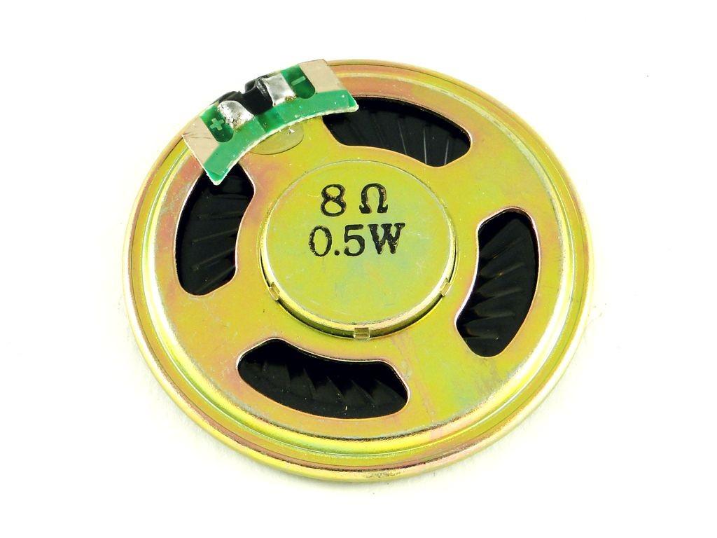 Динамик 0,5 Вт, D=40мм