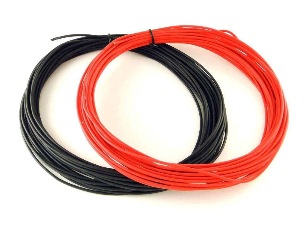 Многожильный цветной провод в ПВХ изоляции, 18AWG, 1 метр