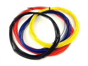 Многожильный цветной провод в ПВХ изоляции, 26AWG, 1 метр
