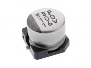 Конденсатор электролитический, 220 мкФ, 25 В