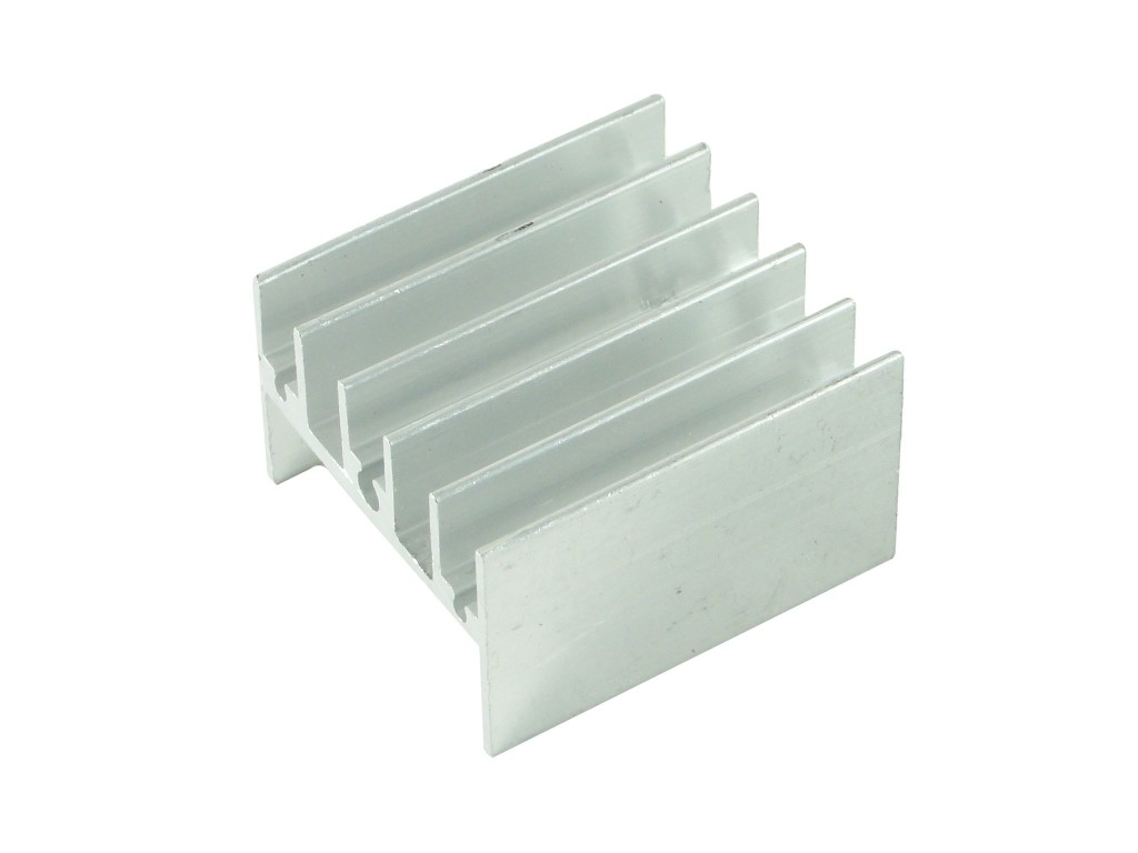 Алюминиевый радиатор 25x24x16мм