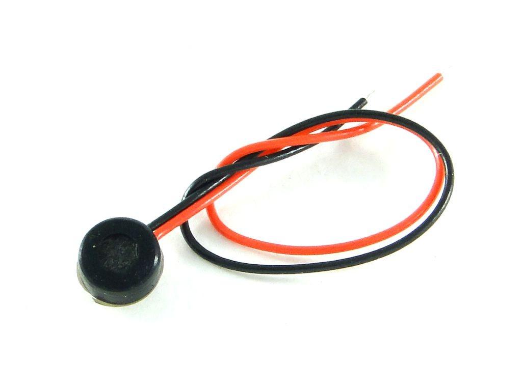 Электретный микрофон с проводами 4x1,5мм