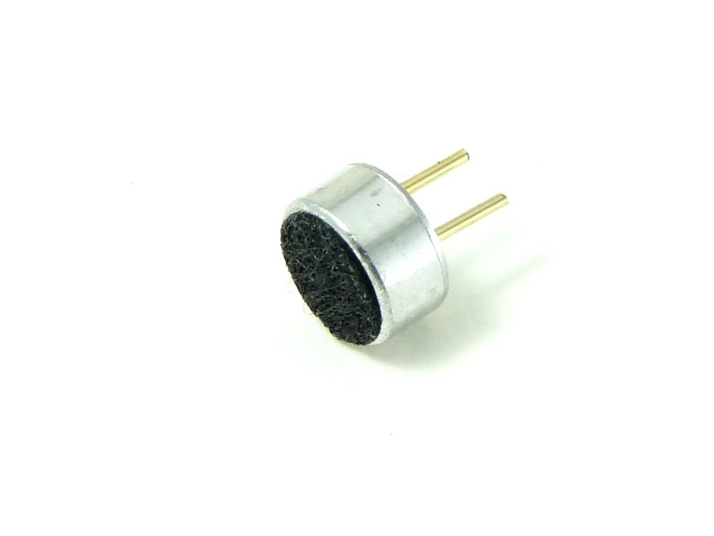 Электретный микрофон 4,5x2,2мм