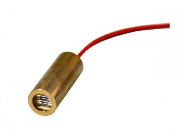 Лазерный модуль с линзой, линия, 5мВт