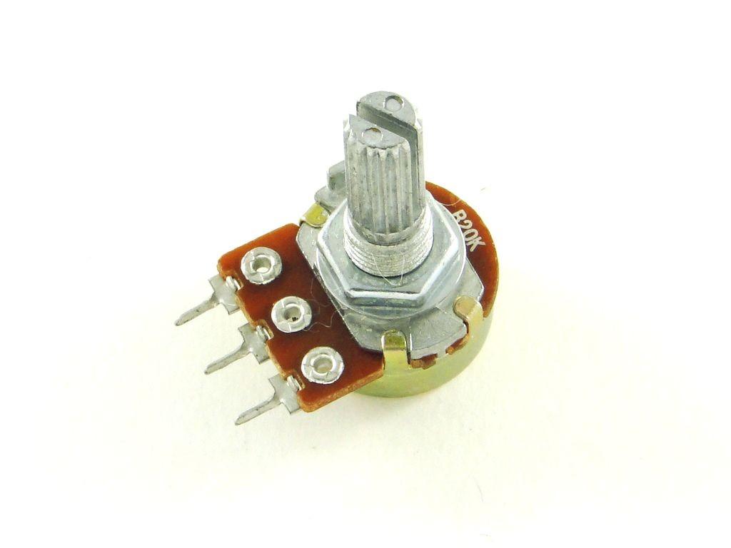 Резистор переменный регулировочный, 20кОм