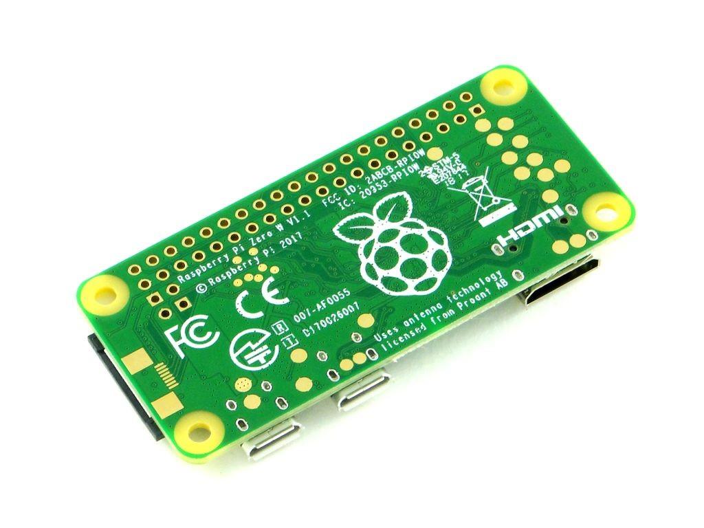 Микрокомпьютер Raspberry Pi Zero W v1.1