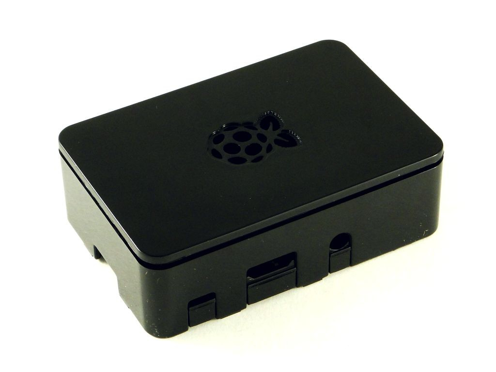 Корпус для Raspberry Pi 2-3, глянцевый с логотипом