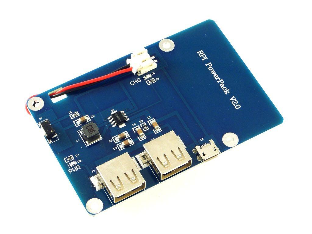 Модуль питания с аккумулятором для Raspberry Pi