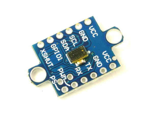 Датчик расстояния оптический VL53L0X с контроллером, 10-200см