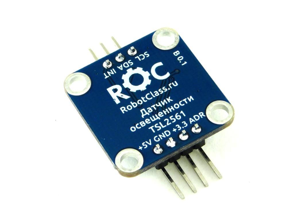 Датчик уровня освещенности TSL2561, ROC