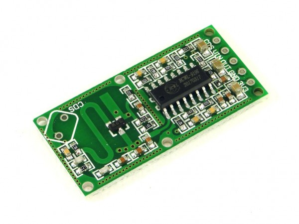 Микроволновый доплеровский датчик движения RCWL-0516