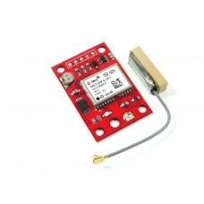 GPS модуль UBLOX NEO 6M, внешняя антенна, CH2