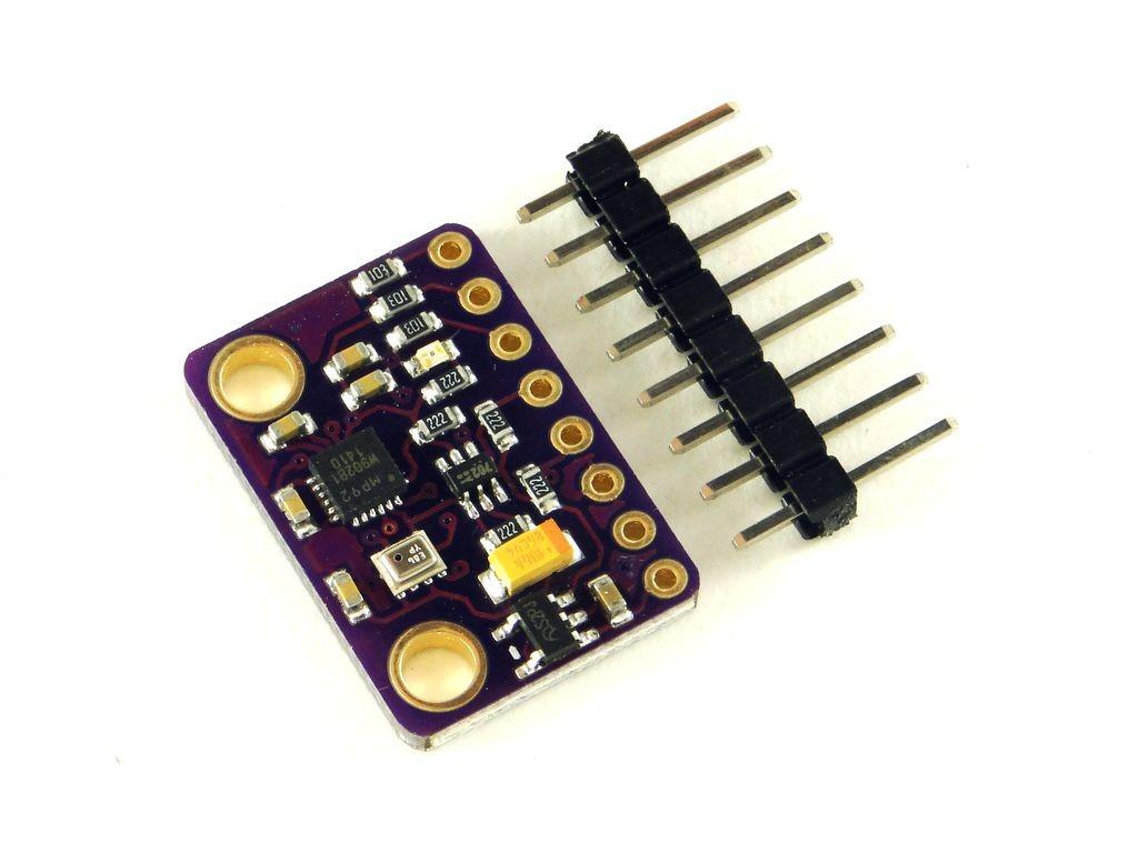 Датчик 10-осевой: гироскоп, акселерометр, компас, барометр (MPU9250+BMP280)