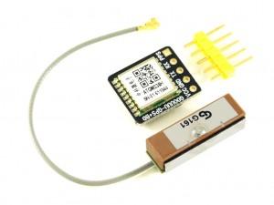 GPS/Глонасс модуль ATGM336H, антенна на проводе