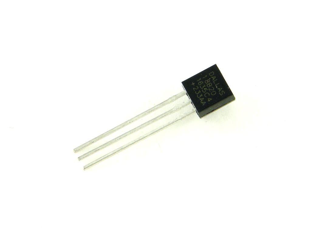 Датчик температуры DS18B20, цифровой