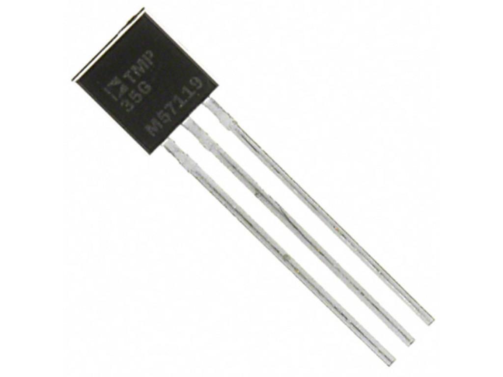 Датчик температуры LM35, аналоговый