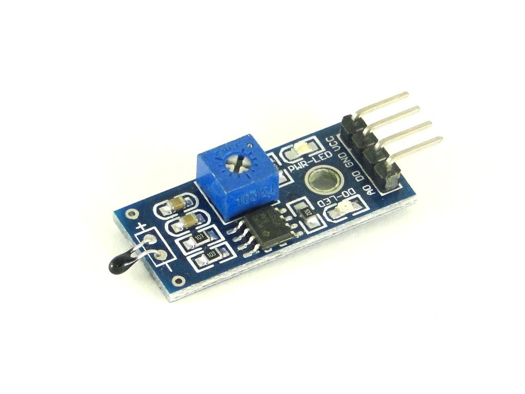 Датчик температуры на основе терморезистора