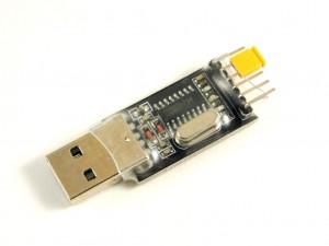 Преобразователь USB-UART, CH340