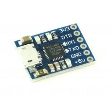 Преобразователь USB-UART с DTR, CP2102