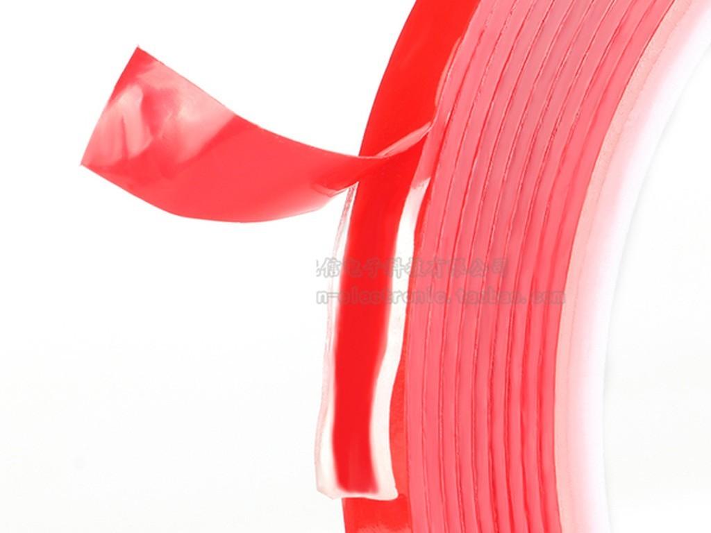 Двухсторонний прозрачный скотч на акриловой основе, 5 мм