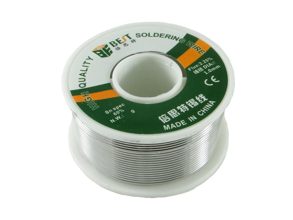Припой BEST 60/40 с флюсом, 0,3 мм, 100г