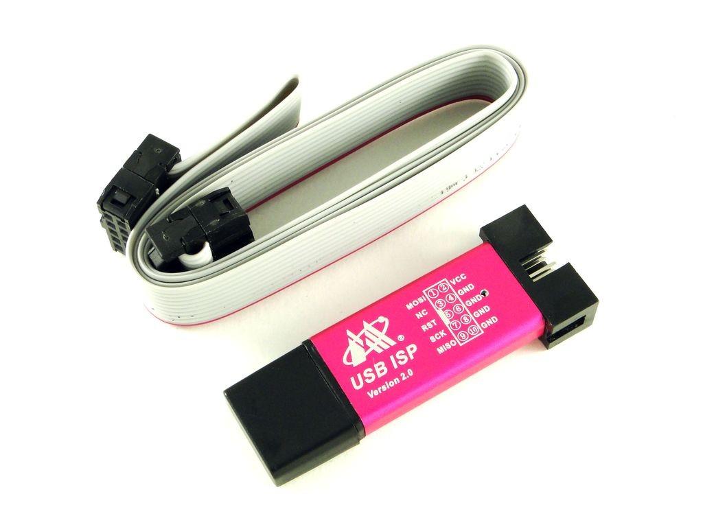 Программатор USB ISP-ASP в корпусе, V2.0