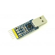 Преобразователь USB-UART с DTR, CP2102, разъем USB-A