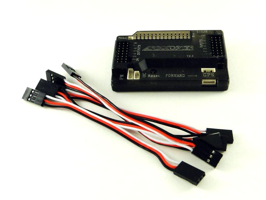 Контроллер для мультикоптера, APM 2.6