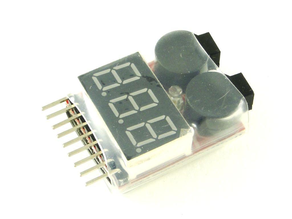 Датчик заряда аккумулятора с сиреной