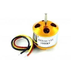 Двигатель бесколлекторный  A2212/13T, 1000KV