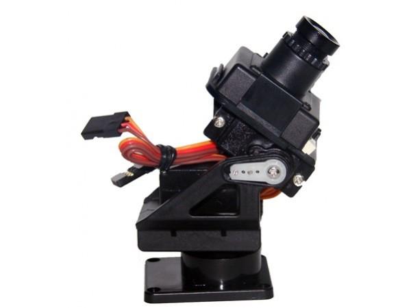 Монтировка для видеокамеры с сервомоторами