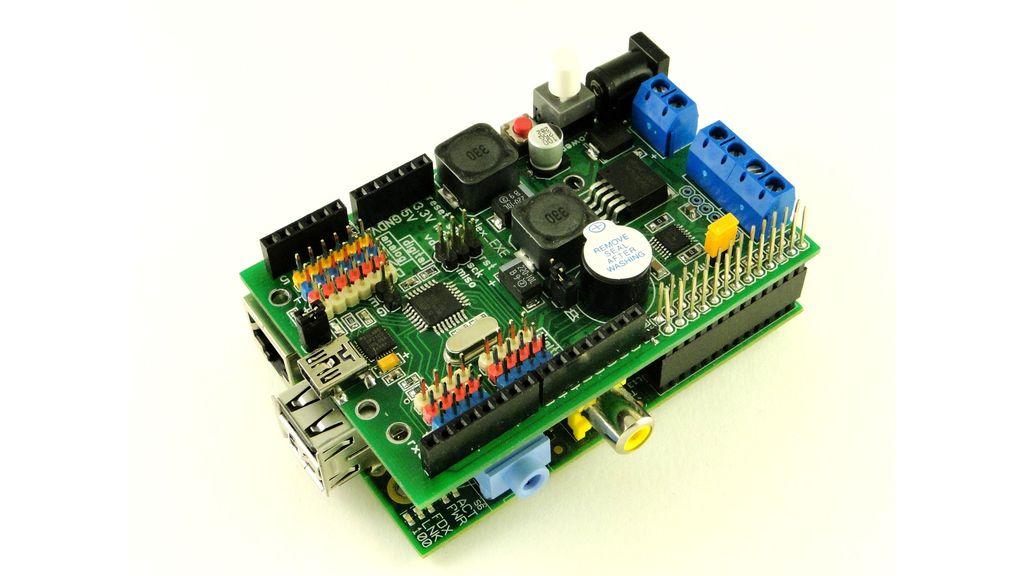 Модуль расширения RPiDuino для Raspberry Pi