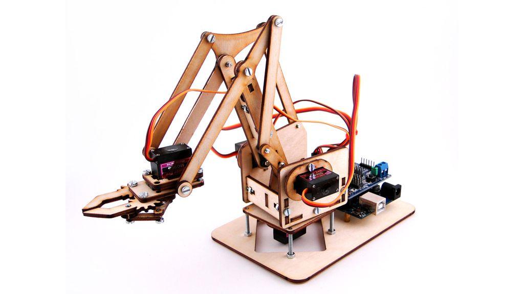 Робот-манипулятор на Arduino