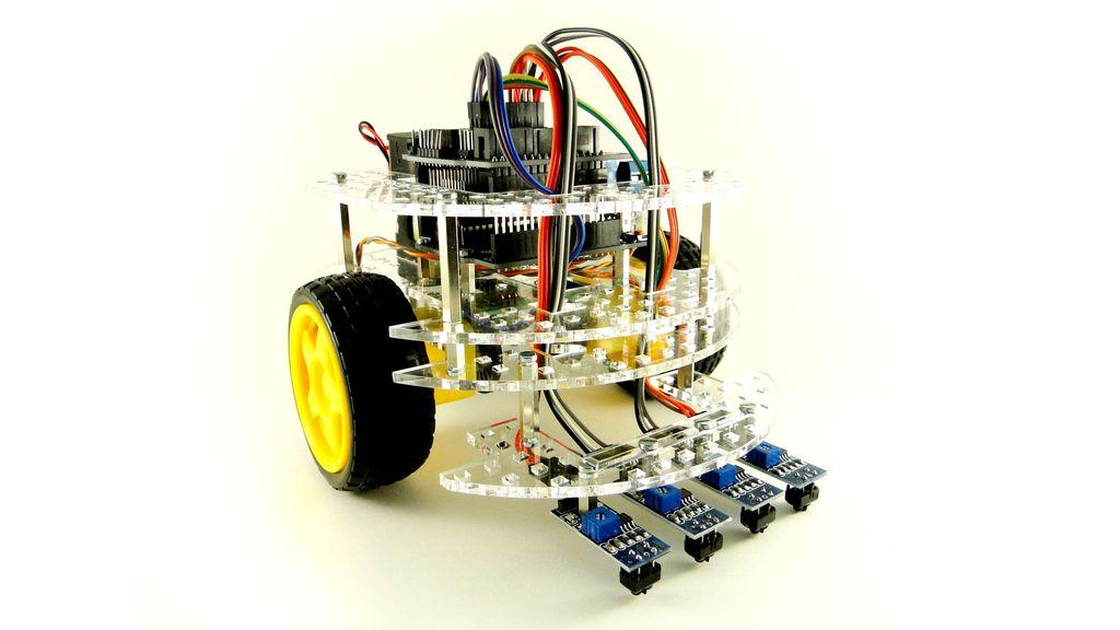 Колесный робот на Arduino