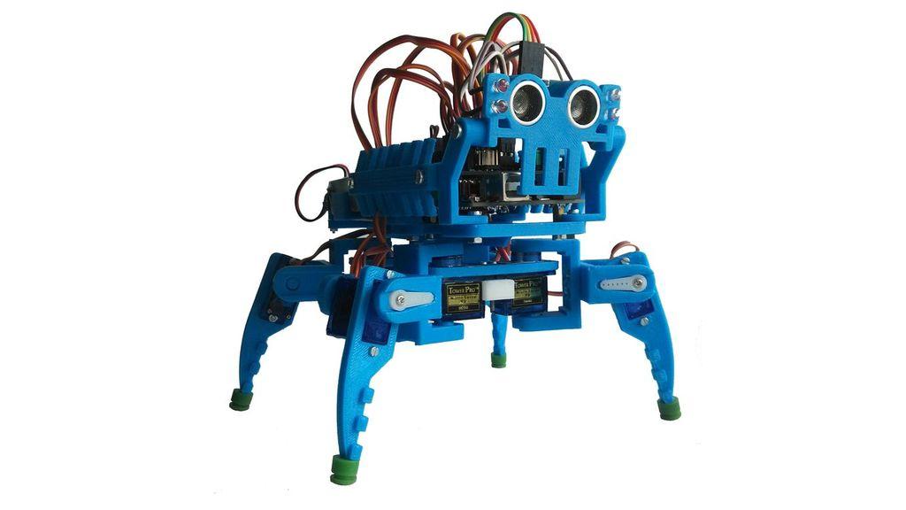 Шагающий робот на Arduino. Кобальт